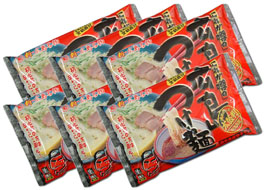 Hiroshima noodle, delicious spicy, raw 12 meals set (YPx6)