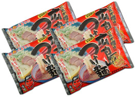 Hiroshima noodle, delicious spicy, raw 8 meals set (YPx4)